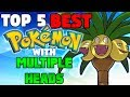 Top 5 BEST Pokémon With MULTIPLE HEADS!