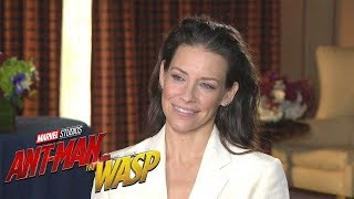 Ant-Man and the Wasp: Evangeline Lilly (FULL INTERVIEW)