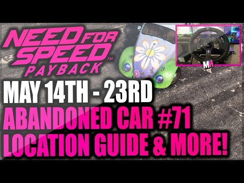 Need For Speed Payback Abandoned Car #71 - Location Guide + Gameplay - SPRING EDITION BEETLE!