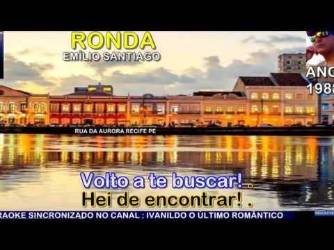 Ronda  - Emílio Santiago - karaoke