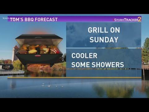 Tom's BBQ Forecast: Grilled top round steak with summer salad
