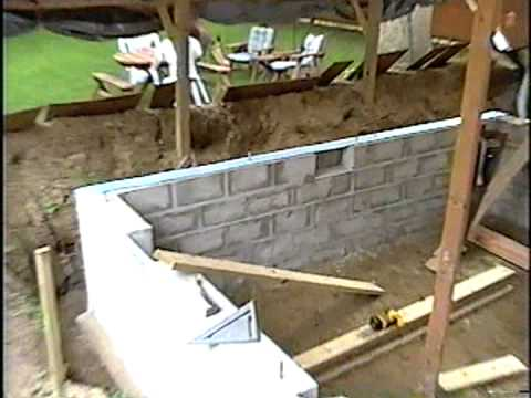 DIY 55 - New bedroom foundation cont'd
