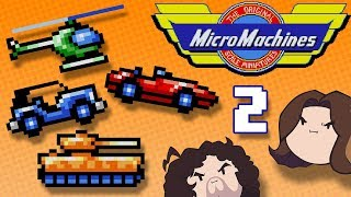 Micro Machines: Turbo Wheels - PART 2 - Game Grumps VS