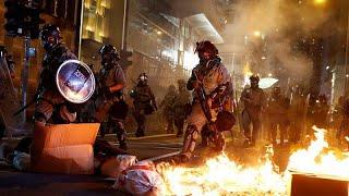 Протестующий Гонконг