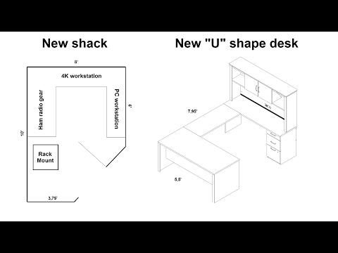 Building a new ham shack