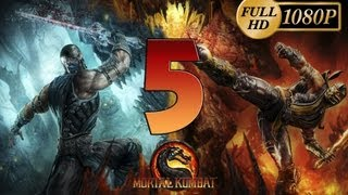 Mortal Kombat 9 Komplete Edition - Gameplay PC Parte 5 | Modo Historia Capitulo 5 Liu Kang | Walkthrough Español HD 1080p