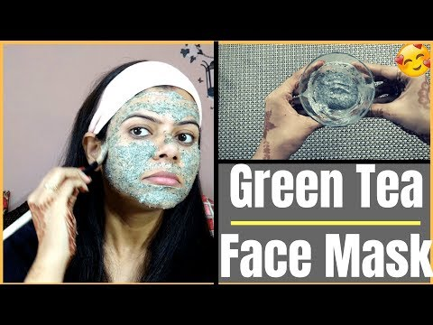 GREEN TEA Face Mask for CRYSTAL Clear| SPOTLESS |GLOWING | YOUTHFUL SKIN |Health Beauty and Life