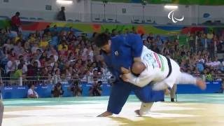 Judo | Turkey v Japan |  Men's +100 kg Preliminary Round of 16 | Rio 2016 Paralympic Games