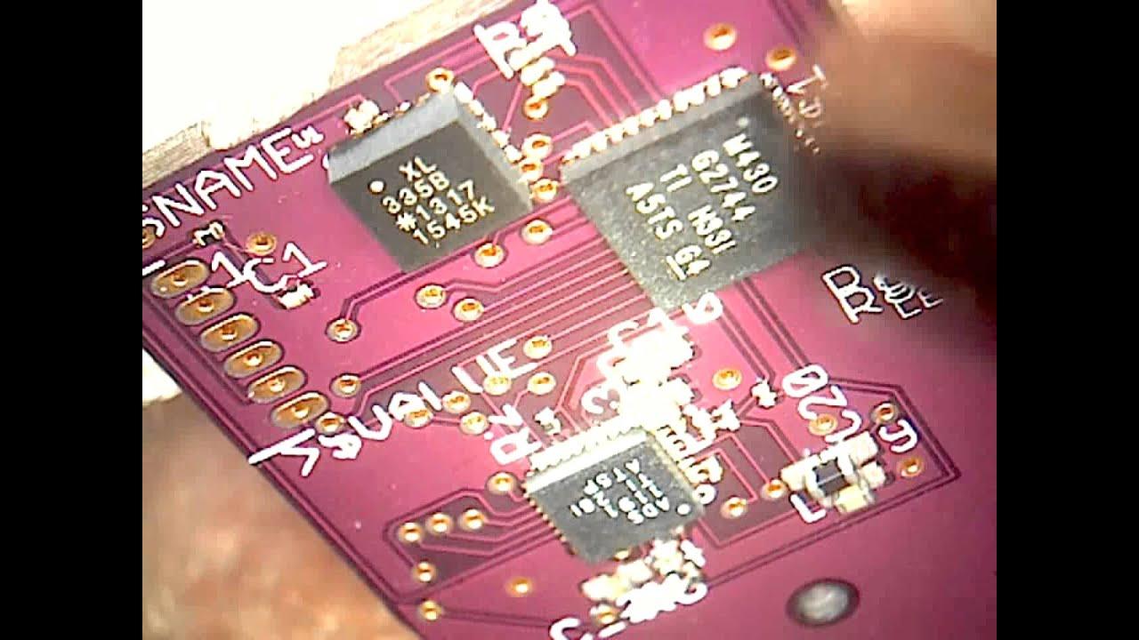 MSP430 Accelerometer MicroSD Datalogger: 6 Steps