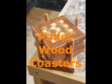 Workshop - Pallet Wood Coasters