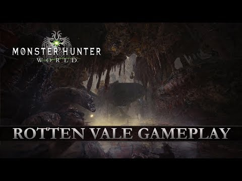 Monster Hunter: World - Rotten Vale Gameplay