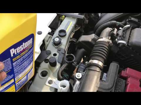 Quick Coolant Flush on Nissan Versa Note 2015