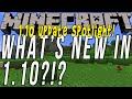 What's New In Minecraft 1.10?!? (Minecraft 1.10 Update Spotlight!!)