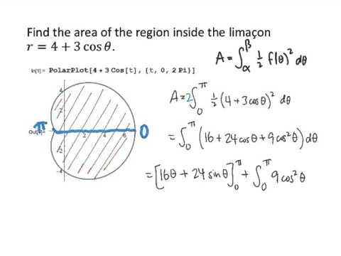 Example: Areas in Polar Coordinates