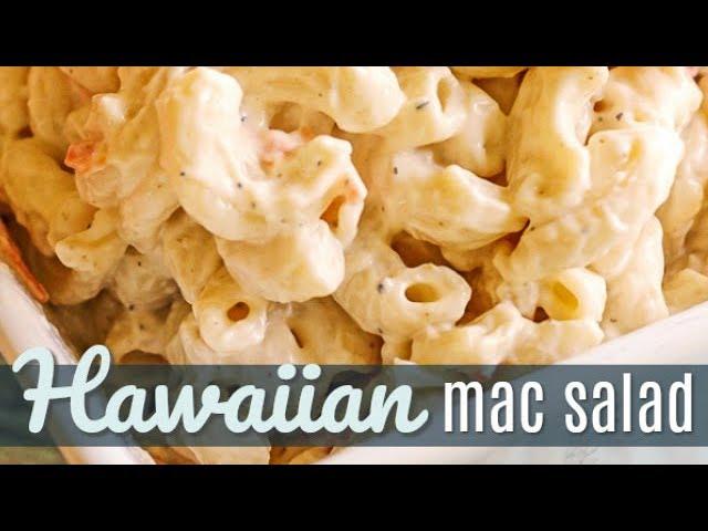 Noho Hawaiian Macaroni Salad Recipe