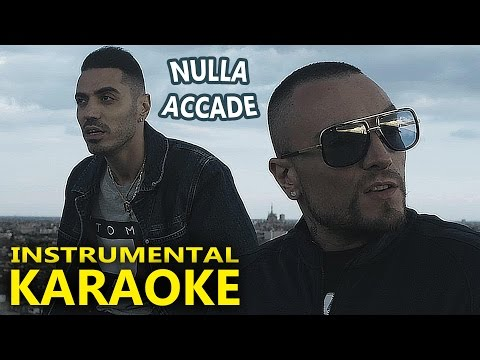 Marracash e Guè Pequeno: NULLA ACCADE (Karaoke - Instrumental)