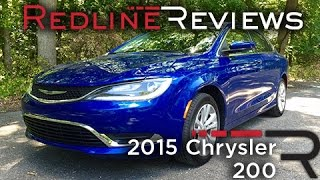 2015 Chrysler 200 – Redline: Review