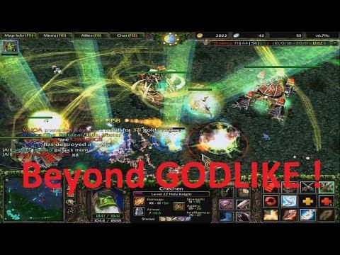 DotA 6.79c - Chen, Holy Knight Beyond GODLIKE !
