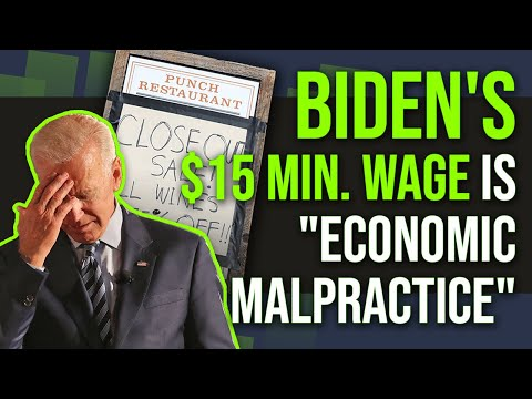 Why Biden's $15 minimum wage could DESTROY our suffering economy