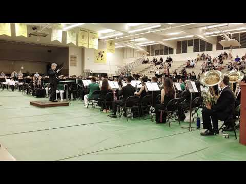 Incantation and Dance by John Barnes Chance|| 42nd Oahu Central District Band Festival Honor Band