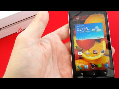 Huawei Ascend P1: Erster Eindruck