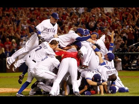 Texas Rangers Winning Play...Awesome!