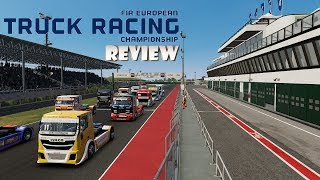 FIA European Truck Racing Championship (Switch) Review (Video Game Video Review)