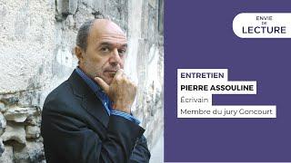 Envie De Lecture – Emission de décembre 2020. Spéciale Pierre Assouline