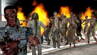 GTA San Andreas - Зомби апокалипсис Прохождение №2