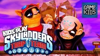 Skylanders: Trap Team Gameplay Part 1 - Kids Play