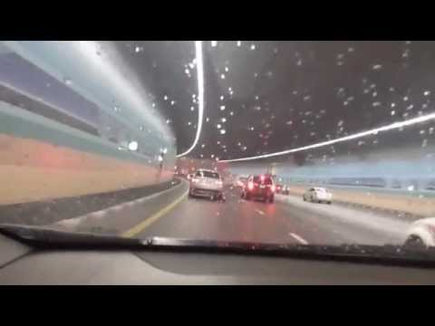 Tunnel under the Runway of Dubai Airport....1.5km long !