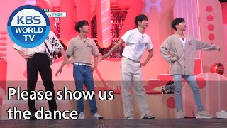 Please show us the dance [IDOL on Quiz/ENG/2020.09.02]