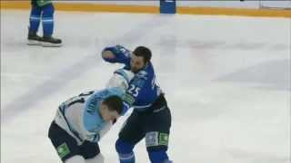 Бой КХЛ: Рыспаев VS Меньшиков / KHL Fight: Ryspayev VS Menshikov