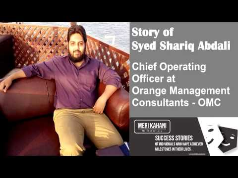 Interview with Syed Shariq Abadali Chief Operating Officer at Orange Management Consultants