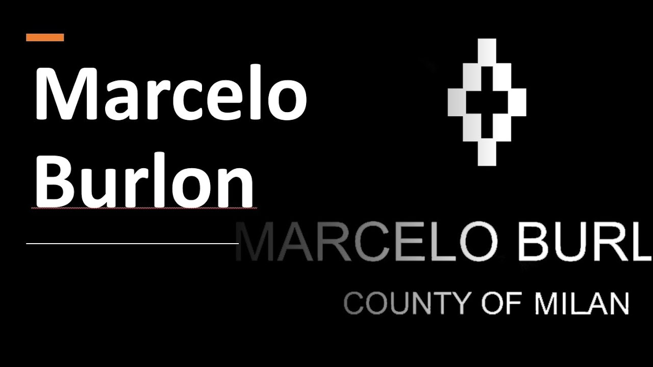 How to Pronounce Marcelo Burlon? (CORRECTLY)