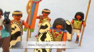 Playmobil Egyptian Soldiers 4245 from www.bunyiptoys.com.au Thumbnail