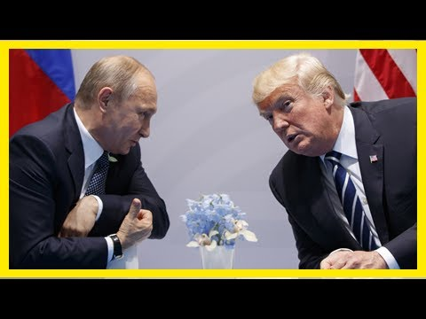 Us Latest News - Trump recently approved the Russian sanctions for violating the Treaty of cold war