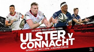 Ulster v Connacht Promo