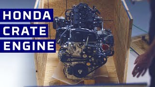 homepage tile video photo for First Look: Honda Performance Development K20C1 Crate Engine   MotorTrend
