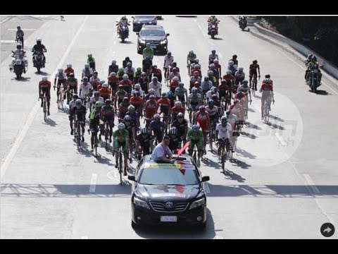 Heavy traffic - on a Sunday - forces Le Tour bike race to scratch opening stage
