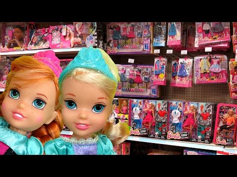 Thumbnail: TOY HUNT with Elsa and Anna toddlers ! Shopkins Season 6 and more ! What else will they see ?