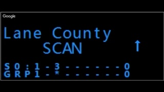 Live police scanner traffic from Douglas county, Oregon.  10/21/2018  10:10 AM