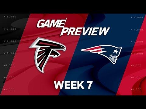 Atlanta Falcons vs. New England Patriots | Week 7 Game Preview | Move the Sticks