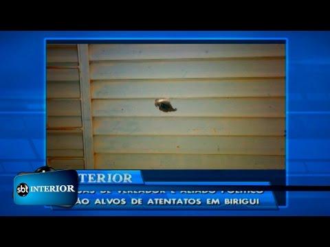 Casa de Vereador é atingido por tiros em Birigui