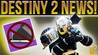 Destiny 2 News! Nightfall Tickets, Crucible Changes, Raid Key Deletions, All Weapon Stats & More!