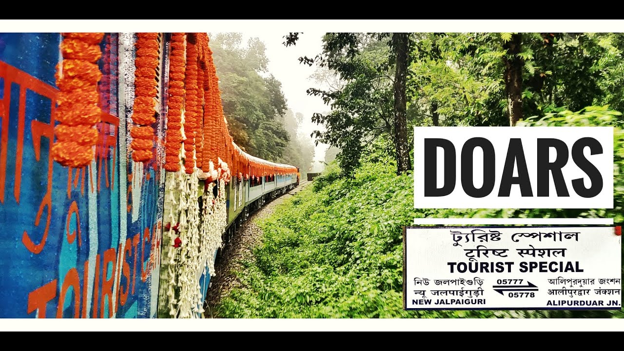 New Jalpaiguri to Alipurduar by Vistadome Tourist Special | The Beautiful Doars Forest & Himalayas