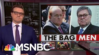 Chris Hayes On Just What Giuliani And Barr Were Willing To Do To Help Trump | All In | MSNBC