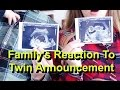 Family's Reaction to Twin Pregnancy Announcement