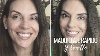 Maquillaje rápido y sencillo para Mujeres de 40+