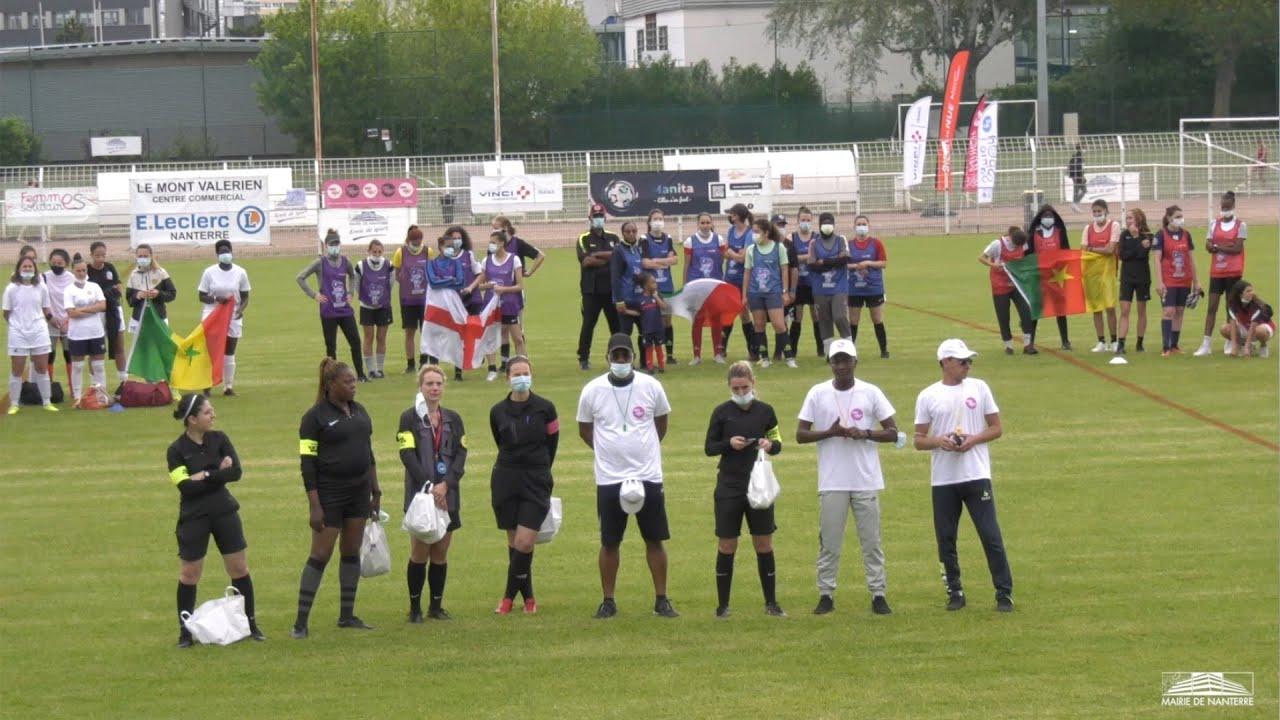 Ville de Nanterre - Le foot au féminin